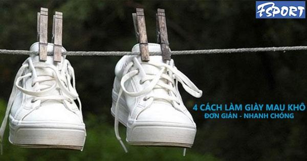 4 Cách làm giày mau khô trong mùa mưa cực hiệu quả