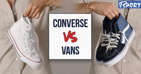 【Bật mí】 Năm 2021 nên mua giày Vans hay Converse?