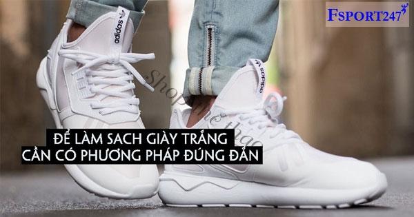 Cách giặt giày trắng không bị ố vàng – Giúp đôi giày luôn như mới