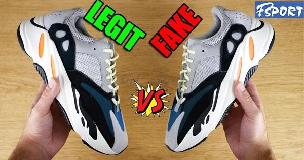 13 Cách phân biệt Giày Adidas Yeezy Boost 700 thật giả chuẩn nhất