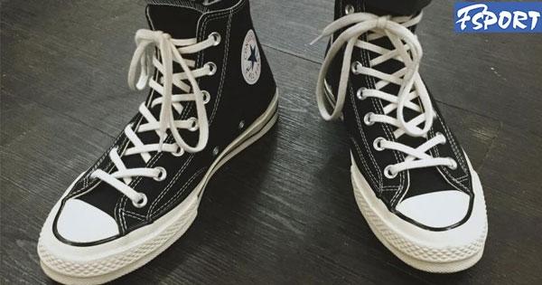 Cách thắt dây giày Converse cổ cao vòng quanh cổ đơn giản nhất