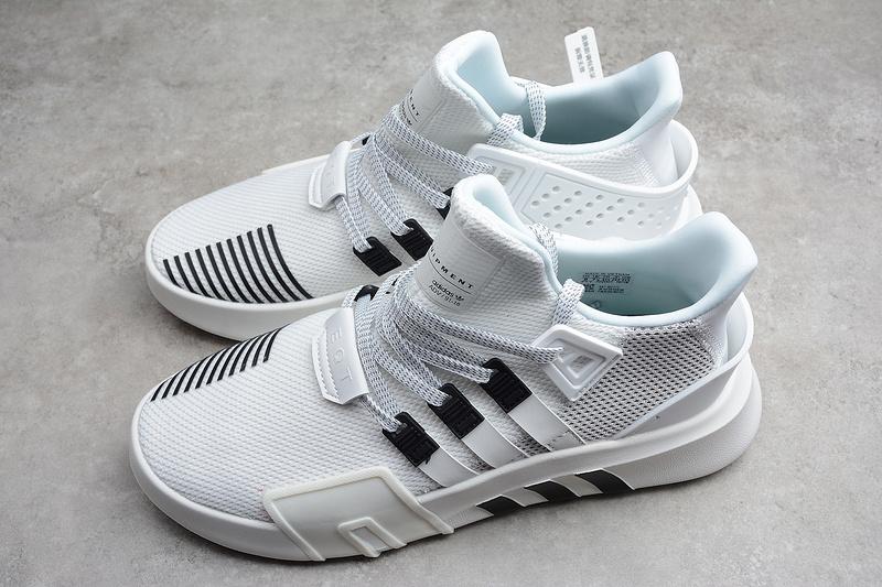 Giày Adidas EQT Bask ADV trắng đen phản quang EQT05Giày Adidas EQT Bask ADV trắng đen phản quang EQT05