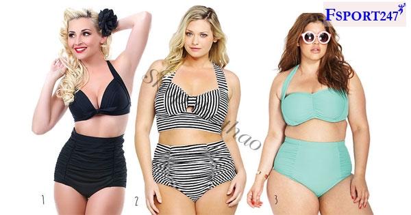 Top 9 mẫu áo tắm cho người béo bụng che đi khuyết điểm của cơ thể