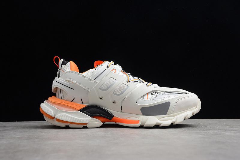 Giày Balenciaga Track 3.0 trắng cam BT3010