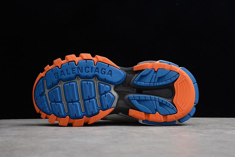 Giày Balenciaga Track 3.0 xanh cam BT308
