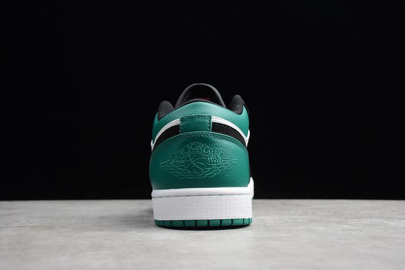 Giày Nike Air Jordan 1 Low White Black Mystic Green NAJ34