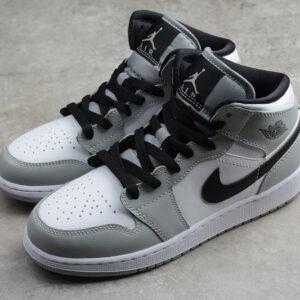 Giày Nike Air Jordan 1 Mid Light Smoke Grey NAJ36