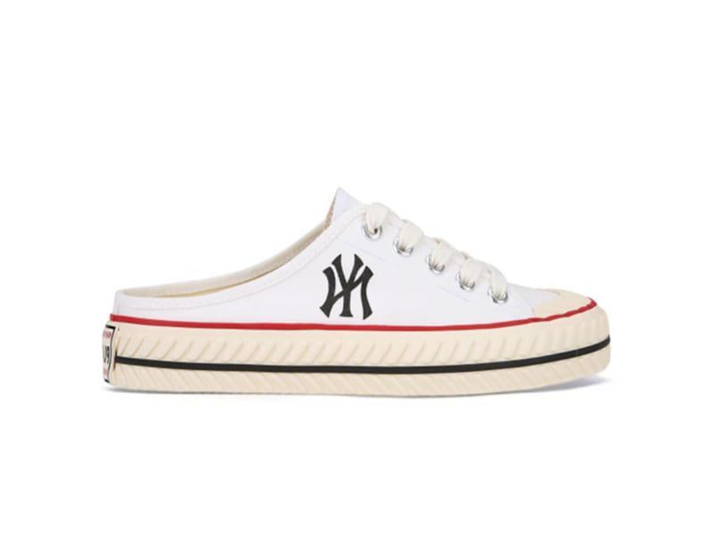 Giày MLB Playball Origin Mule New York Yankees White MLB01