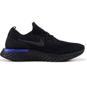 Giày Nike Epic React Flyknit đen xanh NE05
