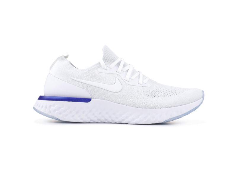 Giày Nike Epic React Flyknit trắng NE02
