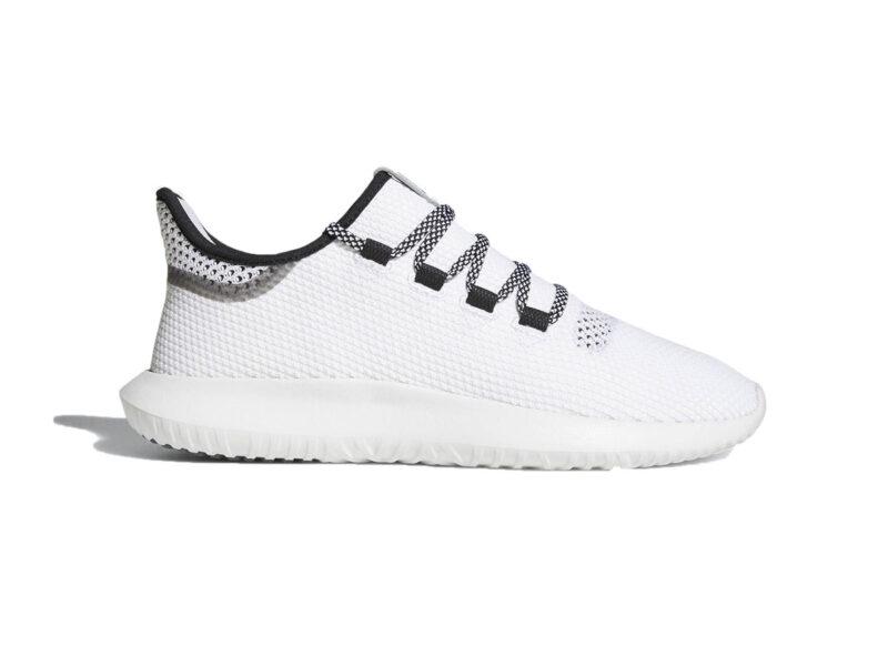 Giày Adidas Tubular Shadow trắng sọc đen ATS02