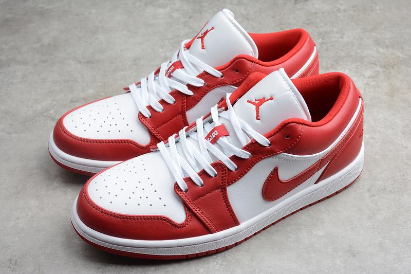 Giày Nike Air Jordan 1 Low Gym Red White NAJ40