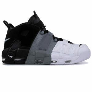 Giày Nike Air Uptempo đen trắng xám NU05