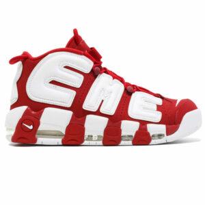 Giày Nike Air Uptempo Supreme đỏ trắng