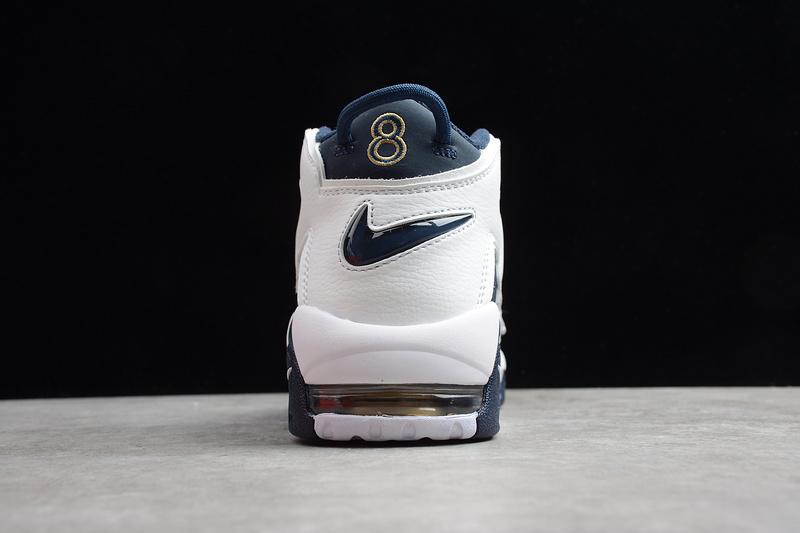 Giày Nike Air Uptempo xanh trắng NU01