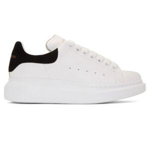 Giày Alexander Mcqueen gót đen Like Auth AMC01