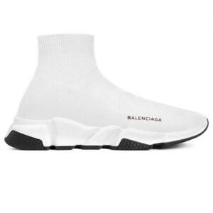 balenciaga speed trainer, giày balenciaga trắng BST02