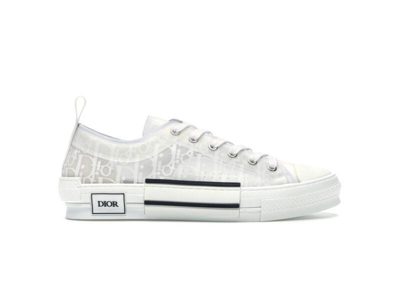 Giày Dior B23 Low Top White Dior Oblique DO05
