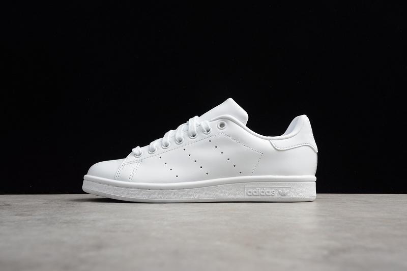 Giày Adidas Stan Smith gót trắng