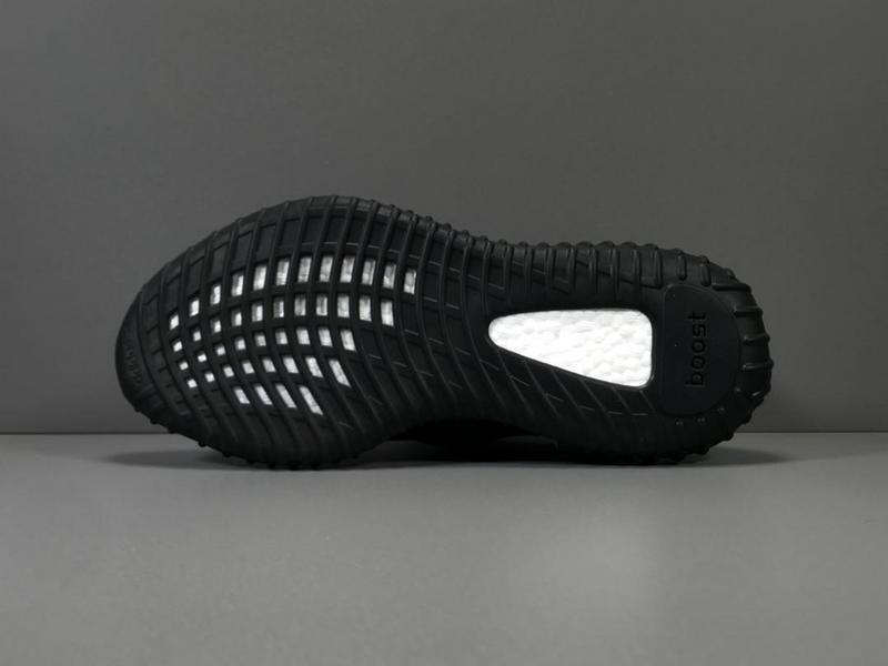 Giày Adidas Yeezy 350 V2 Đen (Black) AY08