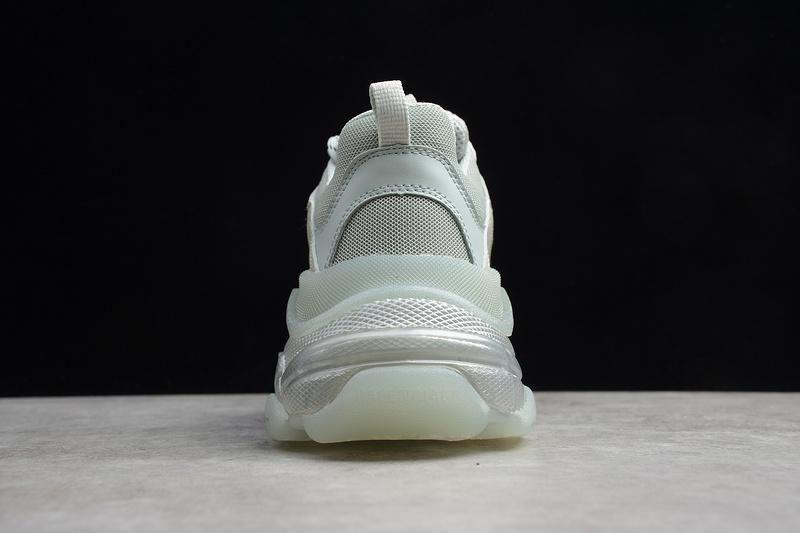 Giày Balenciaga Triple S Clear Sole White BTS03