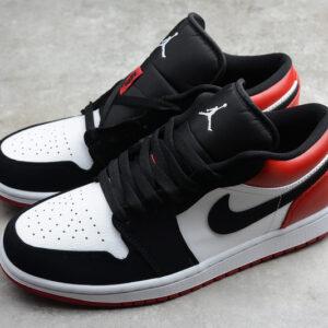 Giày Nike Air Jordan 1 Low Black Toe NAJ42