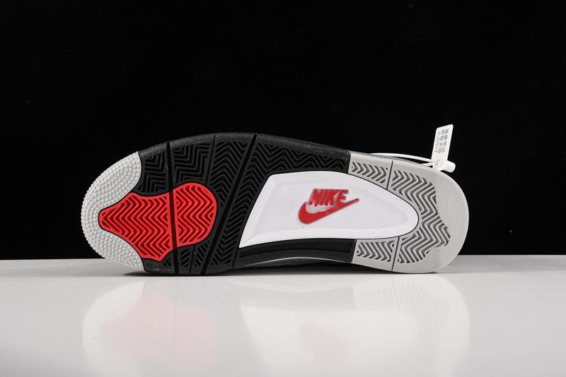 Giày Nike Air Jordan 4 Retro White Cement NAJ54