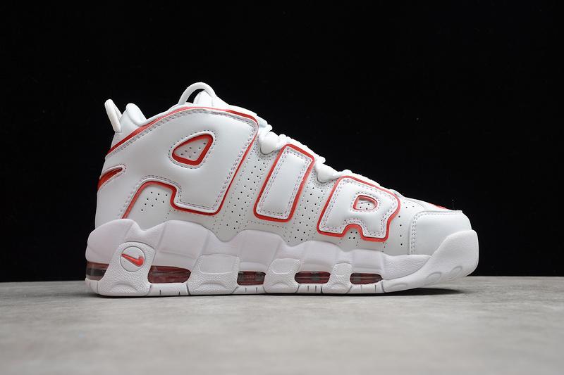 Giày Nike Air Uptempo trắng đỏ NU04
