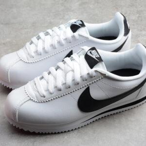 Giày Nike Cortez trắng đen NC01