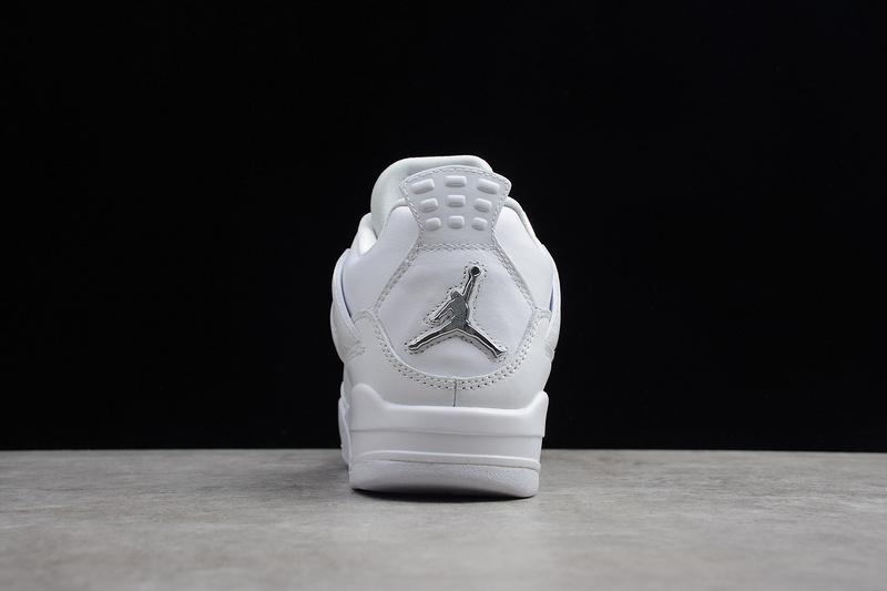 Giày Nike Air Jordan 4 Retro Pure Money (full trắng) NAJ61
