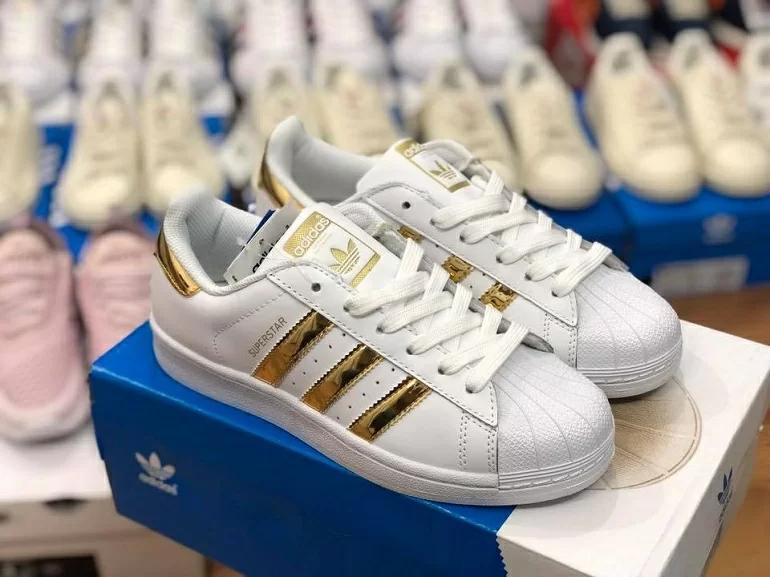 Giày Adidas SuperStar Gold