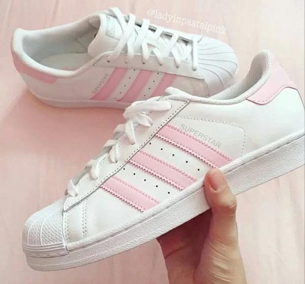 Giày Adidas SuperStar Pink cực đẹp dành cho phái nữ