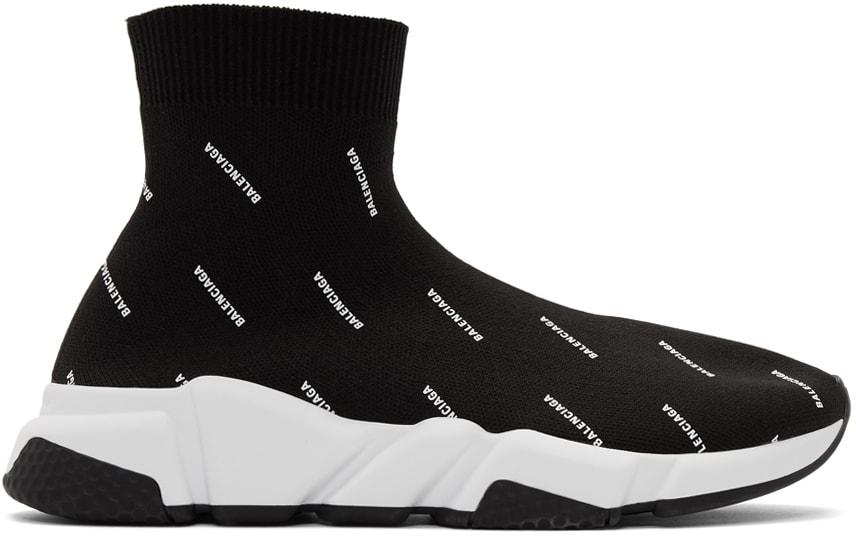Thiết kế giày Balenciaga Speed Trainer chữ chạy tinh tế