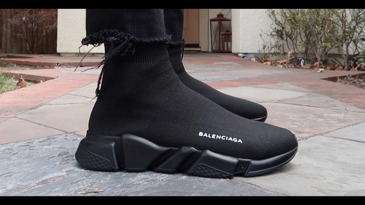Mẫu Balenciaga Speed Trainer đen cực ngầu