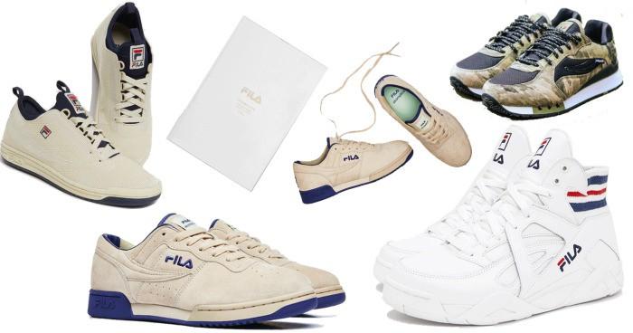 Giá giày Fila chênh lệch theo từng phiên bản