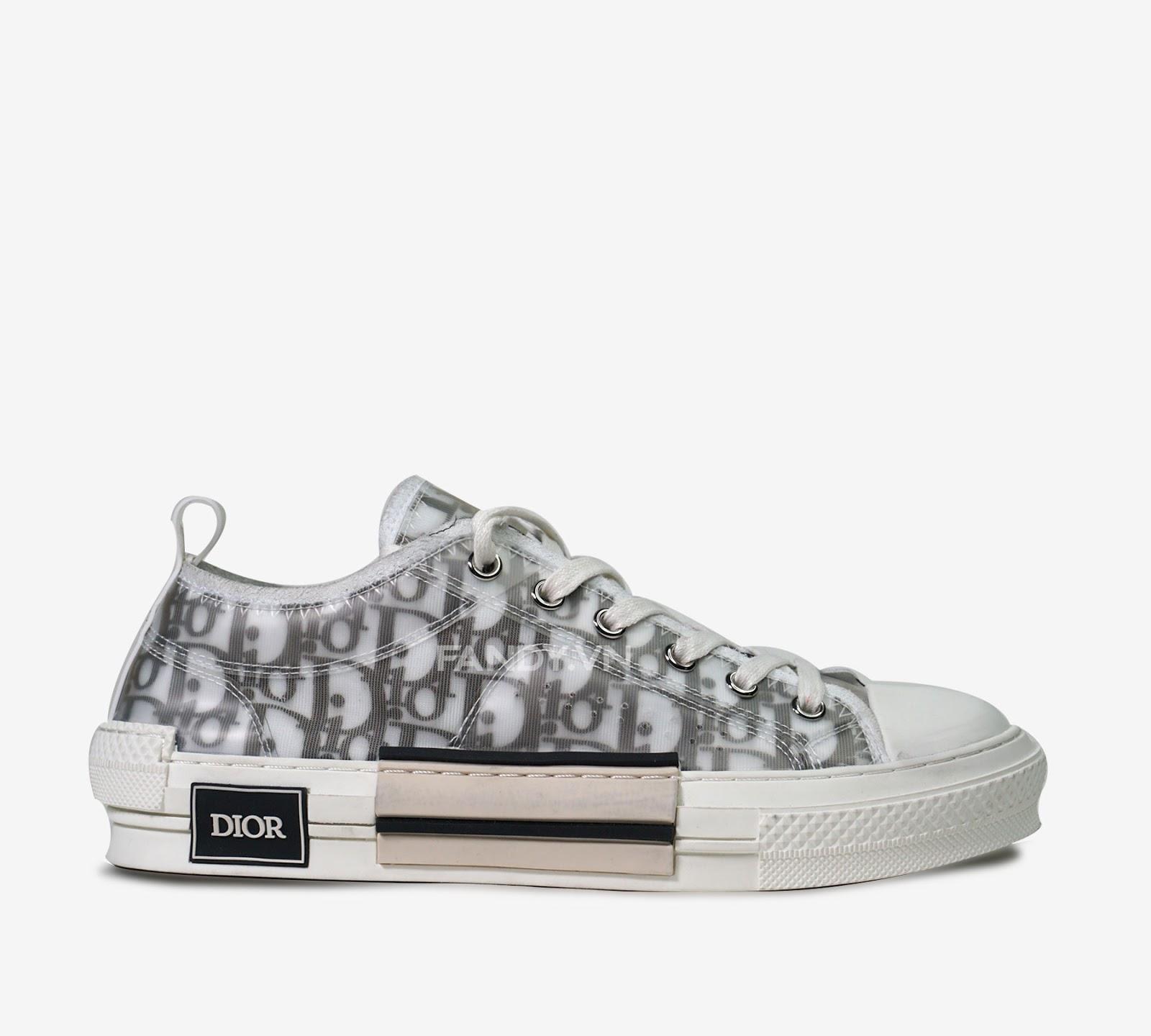 Giày Dior ghi điểm trong mắt hàng triệu tín đồ yêu giày
