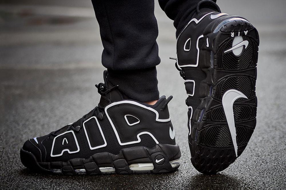 Giày Nike Air Uptempo OG Black n White cá tính