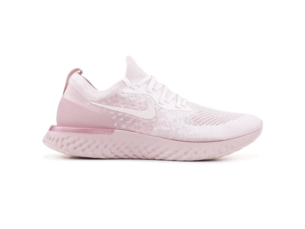 Nike Epic React Flyknit hồng nữ tính