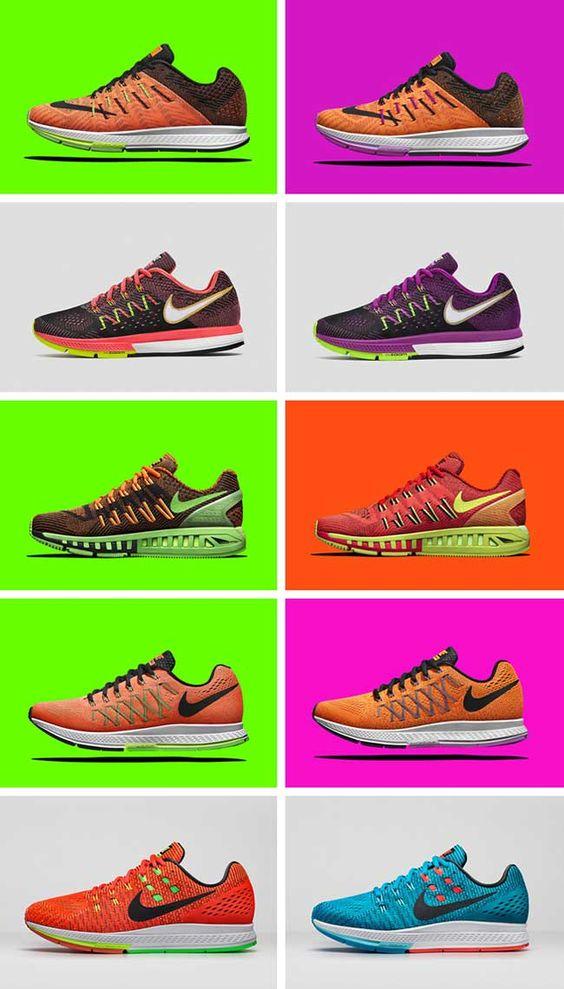 Giày Nike Zoom bảng size và màu sắc đa dạng